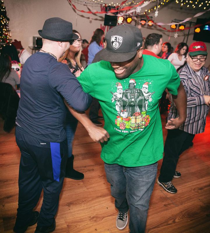 Ability members dancing